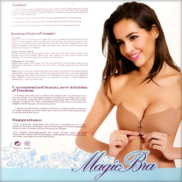 Silicone Secret Magic Bra - Bras - diKHAWA Online Shopping in Pakistan
