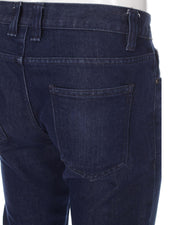 Branded IDENTIC Dark Blue Denim Jeans for Men - ORIGINAL IDENTIC BRAND