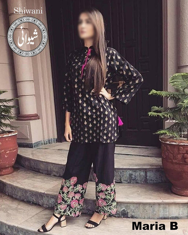 Maria B Lawn Full Embroidered (Replica)(Unstitched)