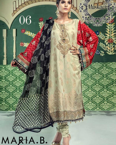 Maria B Lawn Eid Collection D06 (Replica)(Unstitched)