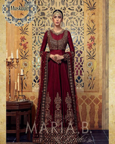 Maria B Darya-e-Noor Bridal Chiffon Collection (Replica)(Unstitched)