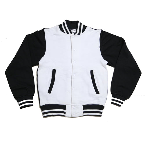 White & Black - Winter Season Jackets For Mens