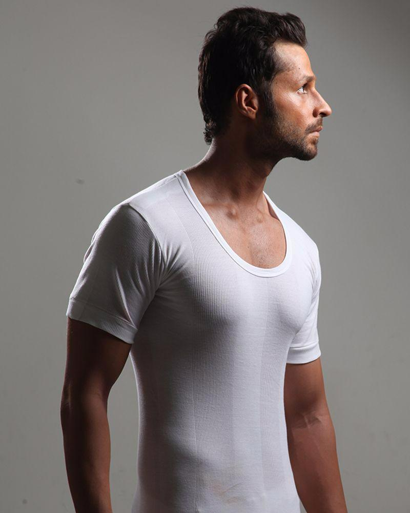 BigBen - Round Neck Mens Vest - Half Sleeves Vest - Cotton Vest - Vest - Banian - diKHAWA Online Shopping in Pakistan