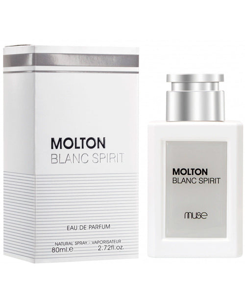 Molton Blanc Spirit By Muse For Women – 80ml.e