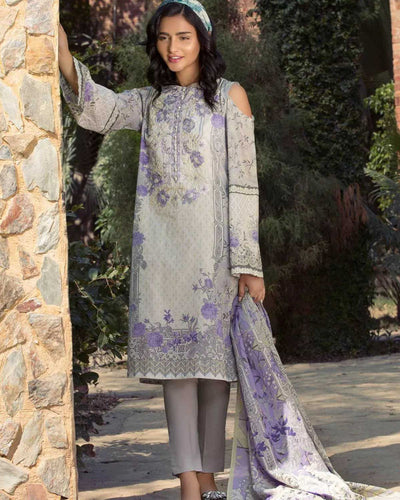 Mystical Orchid (Lawn - 3 Piece) (Original)(Unstitched)