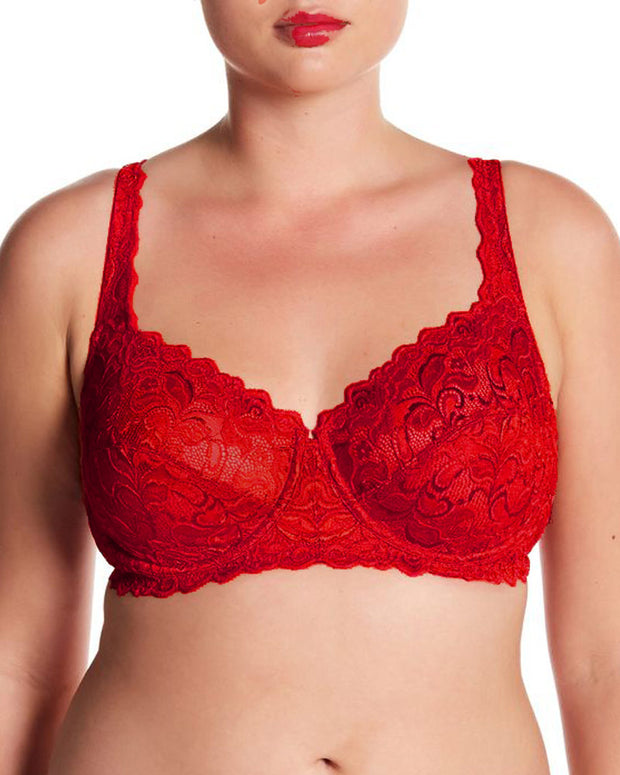 Bridal Bra - Underwired Red Single Padded Bra
