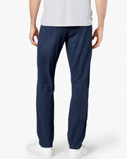 Mens Cotton Dress Pants By Dockers - Navy Blue Cotton Formal Dress Pants