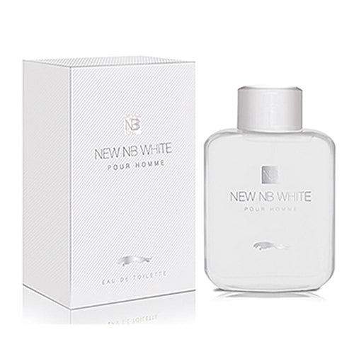 New NB White Pour Homme Mens Perfume – 100ml - Mens Perfume - diKHAWA Online Shopping in Pakistan