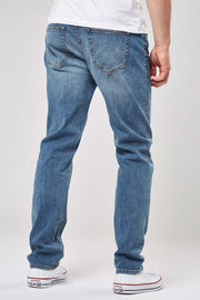 Next Stylish Denim SkyBlue Slim Fit Jeans for Men - Branded Slim Fit Jeans - Men Jeans - diKHAWA Online Shopping in Pakistan