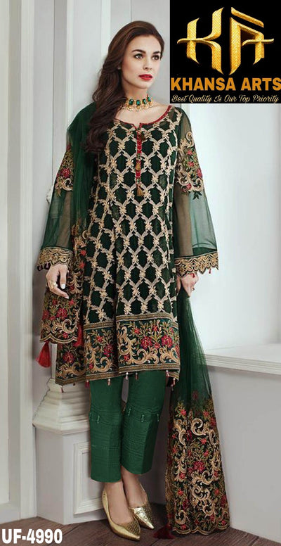 JAZMIN COTTON SUIT - Replica - Unstitched