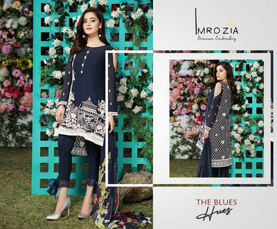 IMROZIA LAWN COLLECTION - Replica - Unstitched