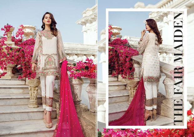 Imrozia Premium Embroidery 2018 - Replica - Unstitched