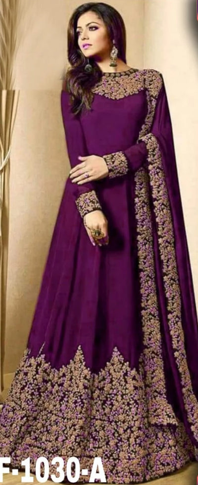 Indian Bridal Maxi - Replica - Unstitched