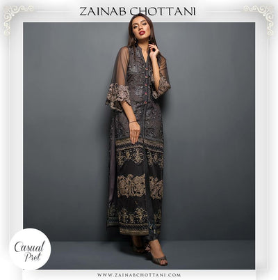 Zainab Chottani Bridal Collection  - Replica - Unstitched