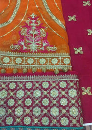 Maria B Chiffon Collection (Replica)(Unstitched)