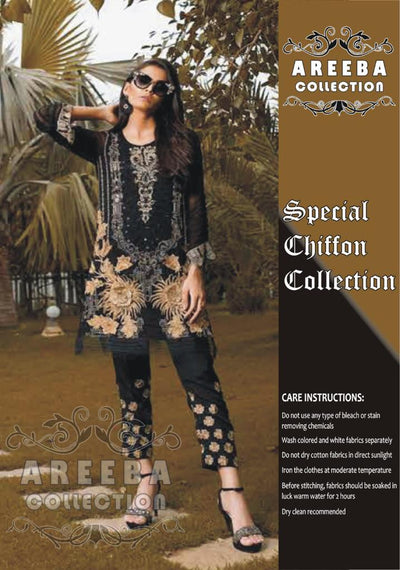 Charizma Chiffon Collection - Replica - Unstitched