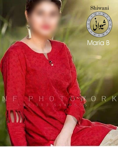 Maria B Cotton Suit - Replica - Unstitched