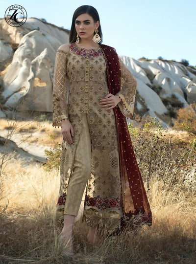 Zainab Chottani Luxury Formal's Collection - Replica - Unstitched