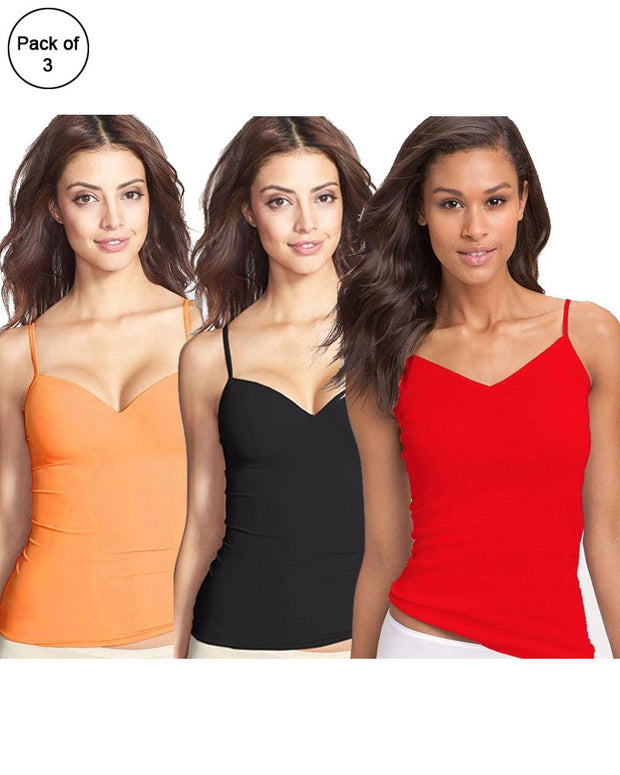 Ladies Camisole Online Shopping in Pakistan. For Rs. Rs.375.00, ID - NN090673, Brand = Lady Zone, Pack of 3 Fancy Colourful Camisole for Girls - Mix Colours in Karachi, Lahore, Islamabad, Pakistan, Online Shopping in Pakistan, Camisole, cf-type-ladies-camisole, cf-vendor-lady-zone, Clothing, Clothings, Lingerie & Nightwear, Nightwear, Size = Free, Women, diKHAWA Fashion - 2020 Online Shopping in Pakistan