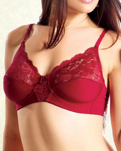Pleasure Bra - Flourish - Red