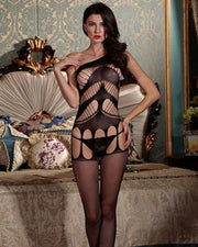 Fishnet Sexy Net Bodystocking - ZW8865