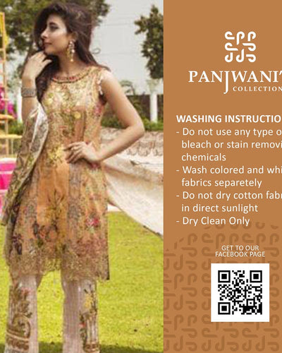 Rangrasiya Printed Embroidered Lawn Collection (Replica)(Unstitched)