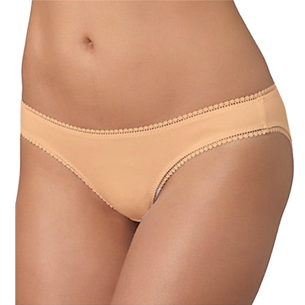 Pack of 3 Regular Panty - Plain Cotton Jersey Panty - Mix Colours - Panty - diKHAWA Online Shopping in Pakistan