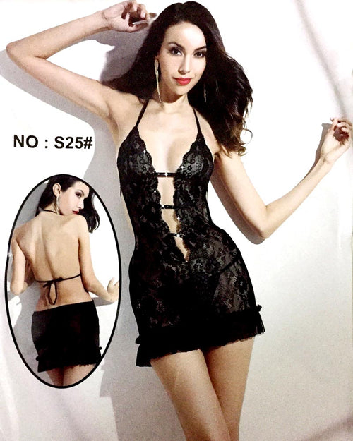 Romantic Short Nighty For Women - S25