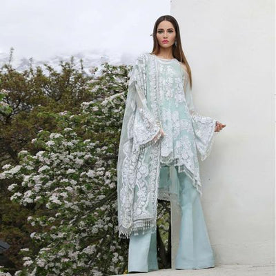 SANA SAFINAZ NET SUIT (Replica) (Unstitched)