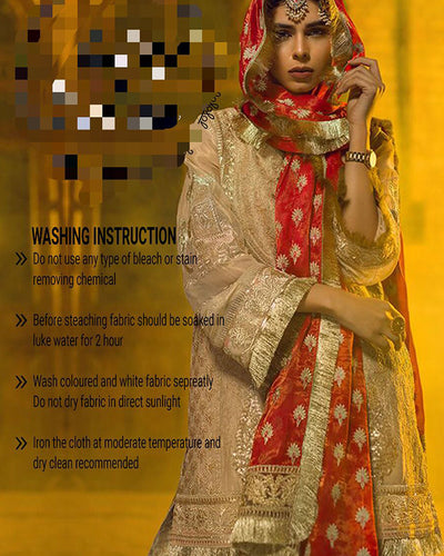 Sadia Mirza Luxury Collection (Replica)(Unstitched)