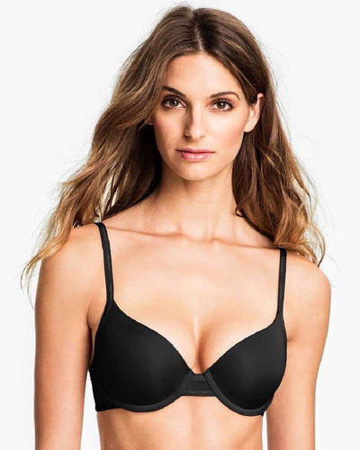 Secret Treasure Bra - Black - T-Shirt Bra Single Padded Push Up Bra