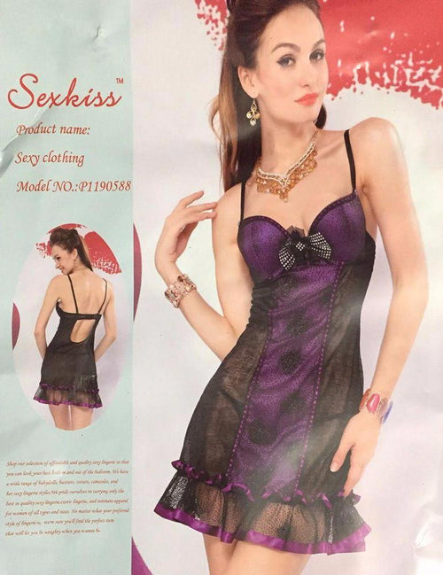 Sexkiss Lingerie - Bridal Lingerie - P1190588 - Nighty - diKHAWA Online Shopping in Pakistan