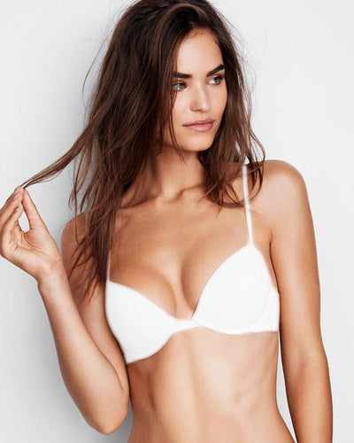 Sexy Pushup Bra - White Push Up Bridal Bra, Single Padded - Underwired Bra - Branded Bra - BY KELITHA (ITALIAN BRAND)