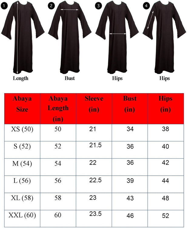 Stylish Jersey Hijab & Abaya  With Dimond Stones