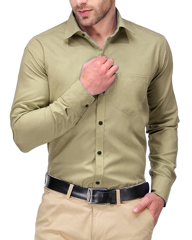 Mens Shirts Plain Skin - Casual Shirts By Tommy Hilfiger