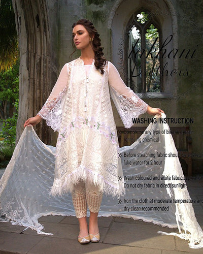 Sobia Nazeer Chiffon Back Silk Digital Collection - 9A (Replica)(Unstitched)