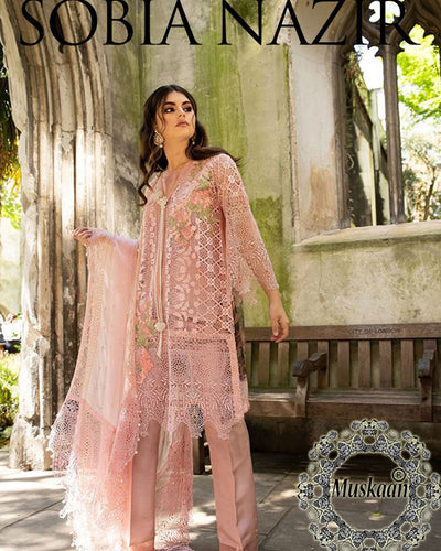 Sobia Nazir Falak Eid Collection 6A (Replica)(Unstitched)