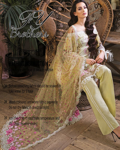 Sobia Nazir Lawn Collection - Master Copy Same As Original - (Replica)(Unstitched)