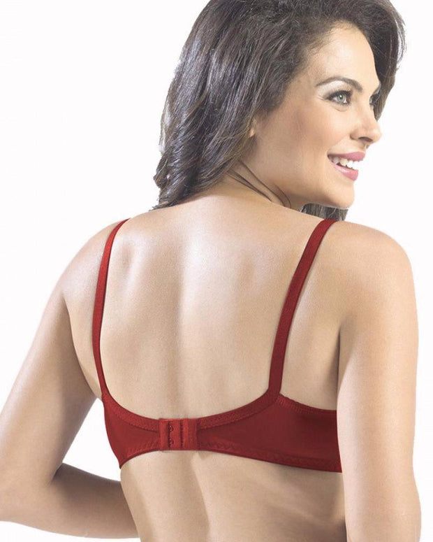 Sonari Loreal Bra - Red - Non Padded Non Wired - Imported Bra - Bras - diKHAWA Online Shopping in Pakistan