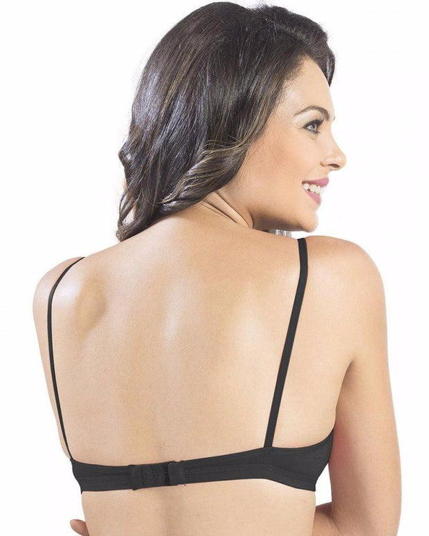 Sonari Omania Bra - Black - Non Padded Non Wired - Imported Bra - Bras - diKHAWA Online Shopping in Pakistan