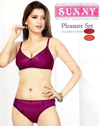 Sunny Pleasure Set - Bra Panty Set - Bra Panty Sets - diKHAWA Online Shopping in Pakistan