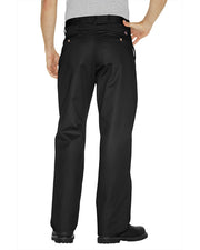 Mens Cotton Dress Pants - Mens Premium Cotton Flat Front Pants