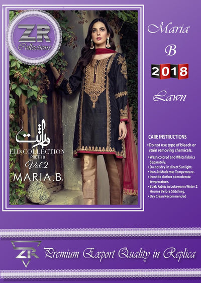 MARIA B VIRASAT EID COLLECTION VOL 2 (Replica)(Unstitched)