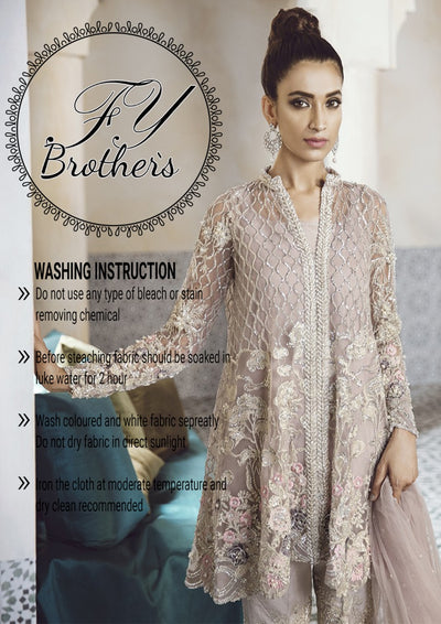 PAKKI BRIDAL DRESSES (Replica)(Unstitched)