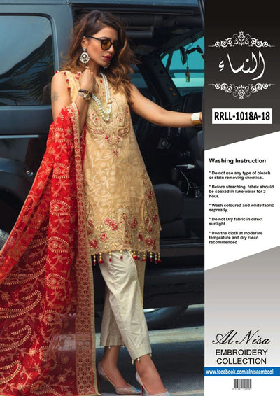 Rangrasiya Luxury (Replica)(Unstitched)