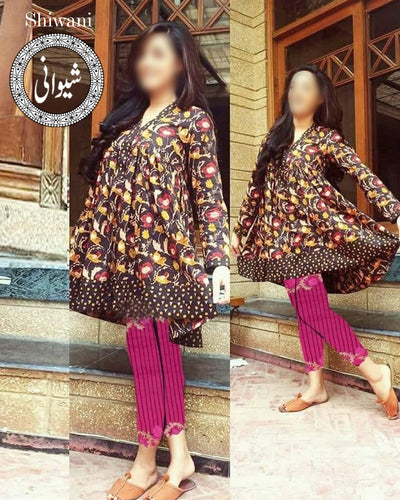 Sanam Chaudhry (Replica)(Unstitched)
