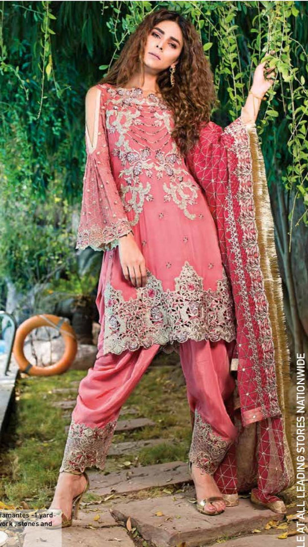 IMROYAL CHIFFON EMBRIODED COLLECTION(Replica)(Unstitched)