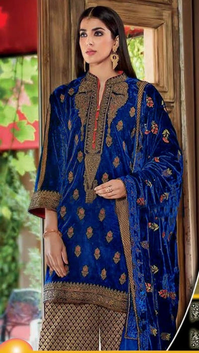 GUL AHMED Chiffon Winter Collection Replica
