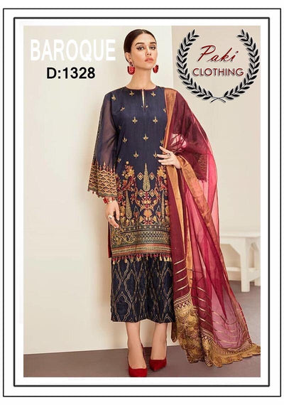 Baroque Lawn Eid Collection Unstitched