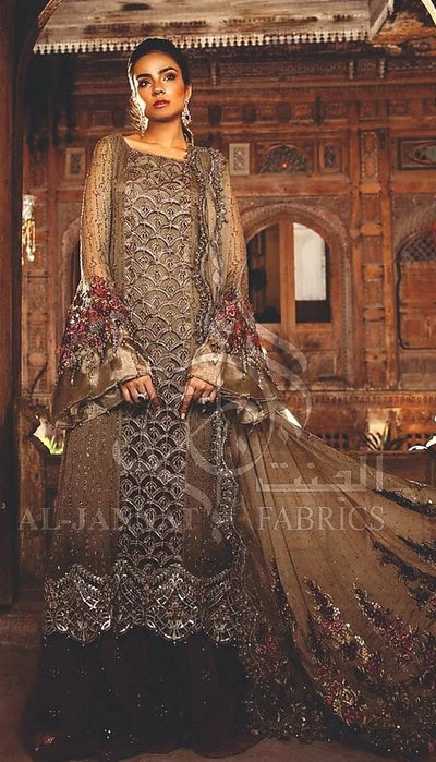 Maria B Chiffon Bridal  Collection 2020 New Design
